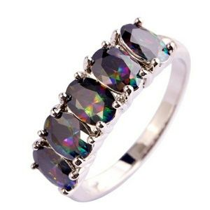 Jewelry - Rainbow Topaz Fashion Ring